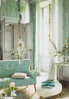 Love This Room All Of It The Mint Green