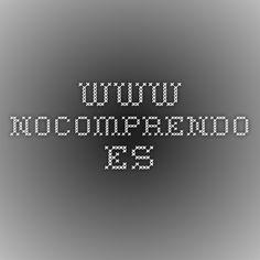 www.nocomprendo.es
