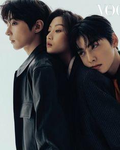 Korean Photoshoot, Vogue Photoshoot, Asian Actors, Korean Actors, Vogue Korea, Handsome Anime Guys, Kdrama Actors, True Beauty, Beautiful Boys