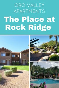 Oro Valley Apartments: The Place at Rock Ridge - MCLife: Tucson