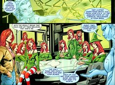 Cyclone and Roxy solve her power problem. From JSA-All Stars #13 (2010); art by Howard Porter and Art Thibert.