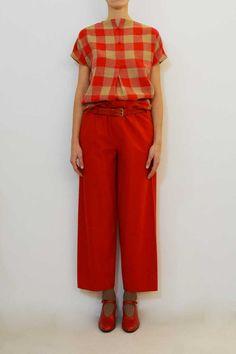 Daniela Gregis operaio trousers