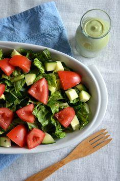 Creamy Basil Salad 3