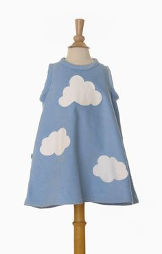 Cloud Dress Kids Fashion, Dress Up, Clouds, Couture, Summer Dresses, Fabric, Stuff To Buy, Shopping, Vestidos