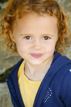 Maggie Elizabeth Jones - she is to cute and I love her red hair!!