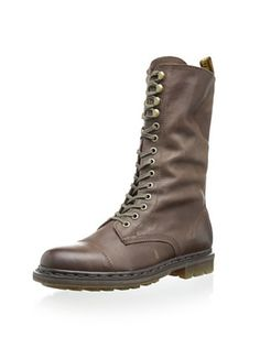 41% OFF Dr. Martens Women's Bridge Boot (Dark Brown Darkend Mirage)