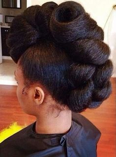Natural updo #CurlyStunna...Wow..This is an amazing updo!