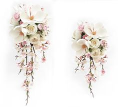 Trail bouquets by Loveflowers. Find your perfect wedding flowers at www.loveflowers.com.au