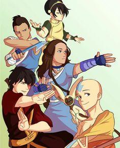 Avatar Airbender, Avatar Aang, Avatar Legend Of Aang, Avatar The Last Airbender Art, Team Avatar, Legend Of Korra, Zuko, Best Cartoon Shows, Avatar Fan Art