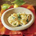 spaghetti al limone - simple, elegant and delish!