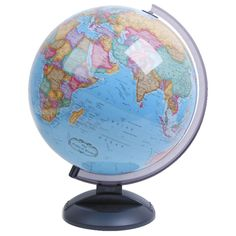 The Little Adventurers globe is a great starter globe for any young one. With its up to date cartographic features, this globe aims to help understand the political world we live in. This globe is made with a sturdy plastic meridian with easy to asse Kids Globe, Desk Globe, Office Works, Homeschool Supplies, Desktop, World Globes, My Workspace, Home Desk, Small Tables