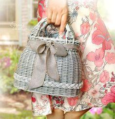 Женские сумки ручной работы. Сумочка женская плетеная Весенняя. Елена-Vasilisa…