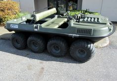 Argo 8x8 Amphibious Vehicle