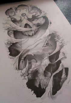 2 skulls by AndreySkull on DeviantArt