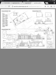 Proposal, Floor Plans, Exterior, How To Plan, House, Haus, Outdoor Rooms, Home, Floor Plan Drawing