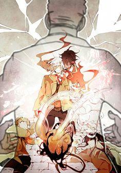 Tags: Anime, Fanart, D.Gray-man, Allen Walker, Yuu Kanda