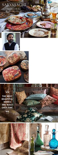 Sabyasachi Collection | Pottery Barn