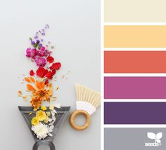Color Swept via @designseeds