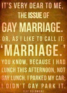 #marriageismarriage