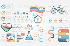 52% OFF Infographic Elements Bundle by Infographic Paradise on @creativemarket