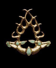 First U.S. Exhibit of Ancient Kazakhstan pazyryk jewelry. On loan from Kazakhstan's four national museums, the exhibition offers insight into the lives of the people of the Altai and Tianshan Mountain regions in the eastern part of the country from roughly the eighth to the first centuries BC.