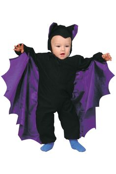 Cute-T-Bat Infant/Toddler Costume (Purple) for Halloween - Pure Costumes