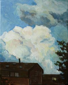 """Saatchi Art is pleased to offer the Art Print, """"Clouds,"""" by Kai Liu. Archival inks on N/A. Kai Arts, Painting Clouds, Cloud Art, Saatchi Art, Art Prints, Drawings, Illustration, Artist, Art Impressions"""