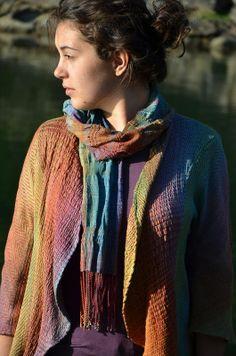 Diana Sanderson - Silk Weaving Studio