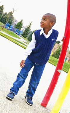 William on the playground