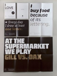Typography lovers do this