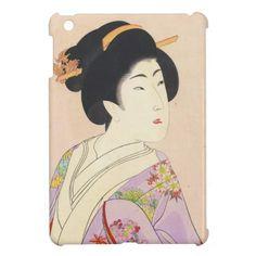 Chikanobu Yoshu True Beauties Unknown Title iPad Mini Cover #ipad #ipadmini #smartphone #apple #case #cover #ipadminicase #japan #oriental #japanese #gift #geishs