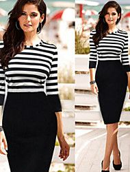 Women's Stripe Bodycon Pencil Dress. Get wonderful discounts up to 70% at Light in the box with Coupon and Promo Codes.