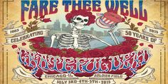 Grateful Dead Chicago | Grateful Dead Will Reunite For Farewell Concerts In Chicago