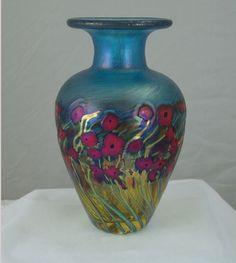 Robert Held - Poppy Vase. I LOVE Robert Held's work.