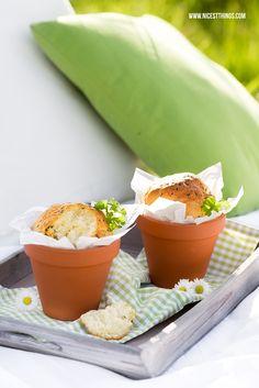 Brot im Tontopf oder Blumentopf backen