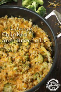 Cheesy Chicken Broccoli