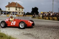 José Froilán González (Maserati A6GCM)  1953 French Grand Prix.
