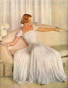 White on white glam