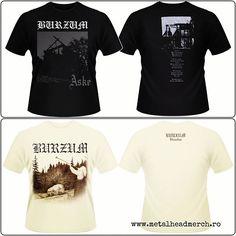 Tricouri oficiale Burzum Alege-ti tricoul accesand www.metalheadmerch.ro #romania #tricou #burzum #filosofem #aske #blackmetal Metalhead, Romania, Black Metal, Instagram Posts, Mens Tops, T Shirt, Fashion, Supreme T Shirt, Moda