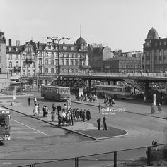 Katowice (Poland), 1974. Socialist State, Warsaw Pact, Central And Eastern Europe, Ppr, Bus Station, Kato, Old Photos, City Photo, Germany