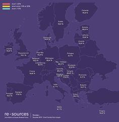 Les différences de salaire hommes / femmes en Europe  egalite salariale equal pay day europe salaire