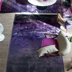 Tapete Designers Guild, modelo Phipps Aubergine. À venda na Nova Decorativa! #decoração #tapete #homedecor #rugs #DesignersGuild