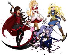 Cerise Apple Kitty and Blondie as Team RWBY. Kawaii Disney, Ever After High Rebels, Lizzie Hearts, Monster High Art, Raven Queen, Film D'animation, Magical Girl, Oeuvre D'art, Les Oeuvres