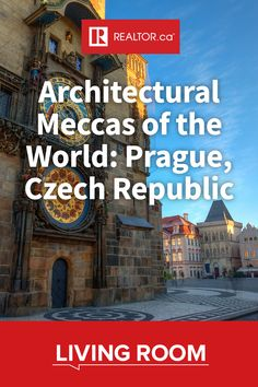 Discover what makes Prague one of Europe's most beautiful cities.  In our third edition installment of our Architectural Meccas of the World piece, we explore the Czech Republic's capital city.  #REALTORdotca #Prague #Czechia #CzechRepublic #Europeanarchitecture #architecture #globalarchitecture #urbandesign #baroque #gothic #history