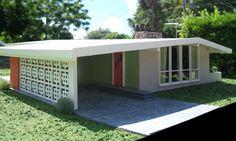 1:24 scale miniature MCM house