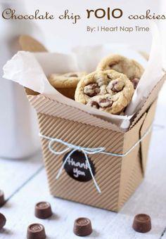 Rolo Cookies http://www.iheartnaptime.net/rolo-cookies/
