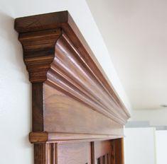 Wooden Front Door Design, Main Door Design, Arched Interior Doors, Baseboard Styles, Trim Carpentry, Fireplace Tile Surround, Home Entrance Decor, Victorian Door, Classic House Design