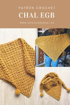 Love Crochet, Beautiful Crochet, Diy Crochet, Crochet Hooks, Crochet Shawls And Wraps, Crochet Scarves, Crochet Clothes, Crochet Designs, Crochet Patterns