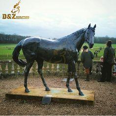 Statues For Sale, Sculptures For Sale, Animal Statues, Horse Sculpture, Metal Casting, Bronze, Horses, Decoration, Garden
