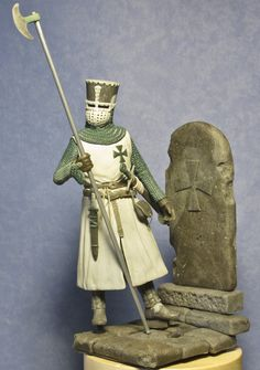 Templar knight toy soldiers for collectors